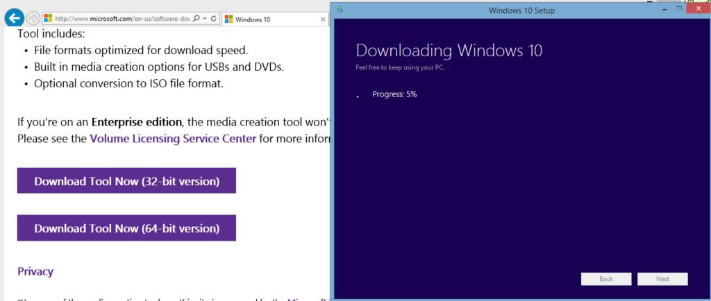 windows10 uppgradering