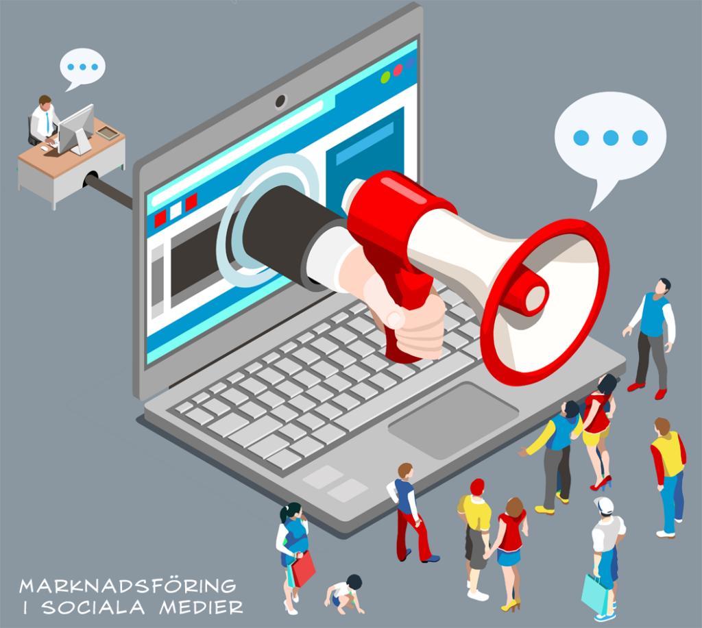 sociala medier marknadsforing