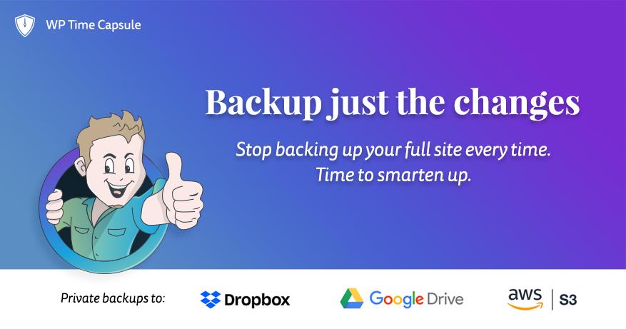 Wordpress backup wp time capsule omdöme